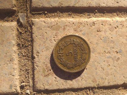 عملات 5فرنك الفرنسي لسنة 1946