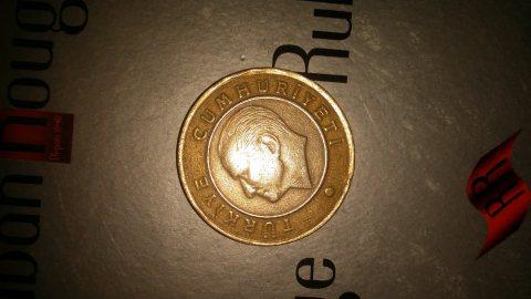 1 ليرة 2009 تركية