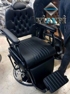 كرسي حلاقة رحالي صناعة تركية - كراسي حلاقة هيدروليك - كرسي حلاقة رجالي ونسائي
