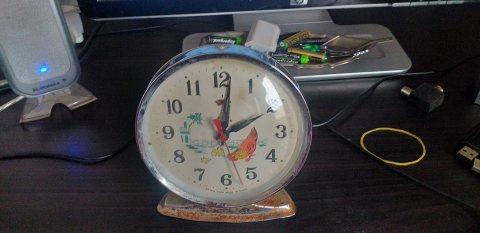 ساعة الاترية