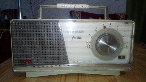 مذياع قديم و شغال