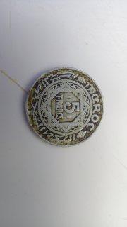عملة مغربية من فئة 5