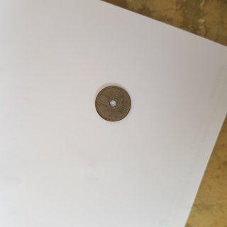 عملة نقدية نرويجية قديمة ومميزة