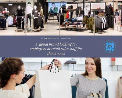 *علامة تجارية عالمية تبحث عن موظفين و موظفات مبيعات تجزئة لصالات العرض