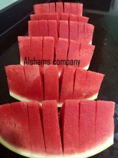 البطيخ الطازج