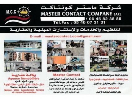 Master Contact a votre service