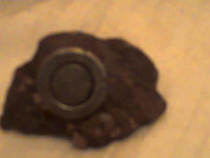 هدا حجر نيزكي يجدب المغنطيس