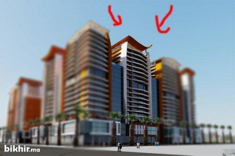 ارض في وسط المدينة لبناء عمارة من 17 طابق