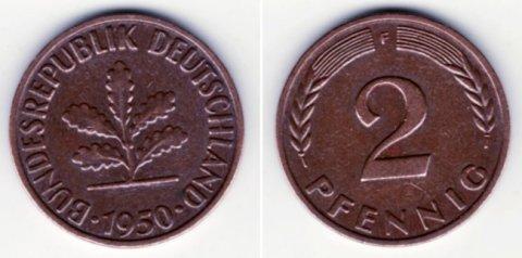 نقود قديمة bundesrepublik deutschland