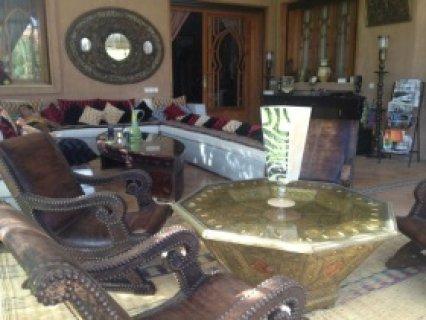 قصر صغير للإيجار النخيل، مراكش: 6 اجنحة