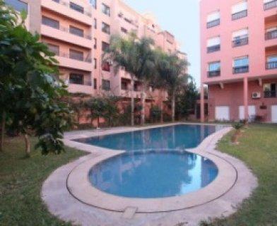 شقة لايجار العطلات بمراكش على مساحة 130 متر مربع