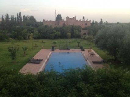 فيلا لايجار العطلات في النخيل، مراكش: 4اجنحة- مسبح