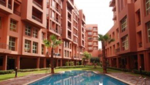 إقامة جديدة بالقرب من حدائق ماجوريل، مراكش: المساحة إبتداءا من 6