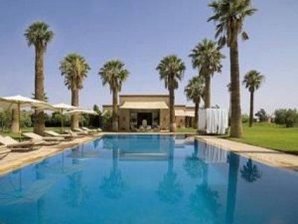 فيلا لايجار العطلات على طريق اوريكا مراكش: 30000م-7اجنحة- مسبح