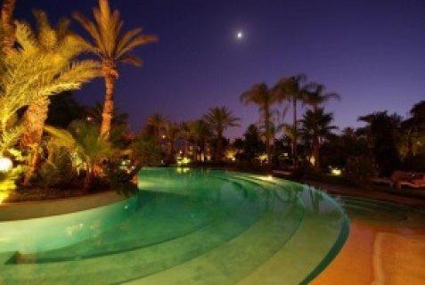 قصر النخيل بمراكش : 5اجنحة- مطعم- مسبح