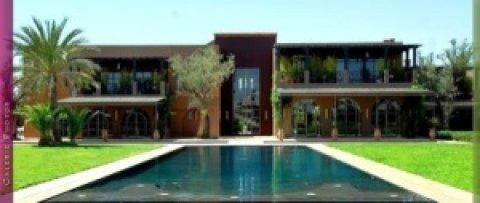 قصر للإيجار 10 اجنحة بالنخيل مراكش