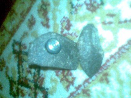 لدي حجر نيزكي يلتصق