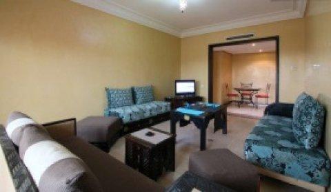 شقة للايجار بالنخيل، مراكش: 3 غرف/صالة