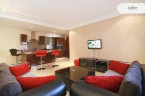 شقة جميلة مفروشة للإيجار لعطلاتكم بجليز، مراكش