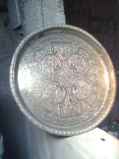 صينبة قديمة من الفضة للبيع