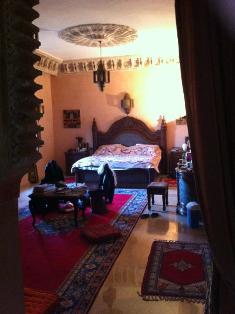 فيلا فاخرة مفروشة في باب أطلس، النخيل، مراكش: 5 غرف / حمام سباحة