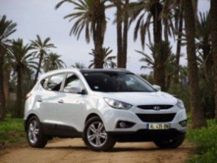 سيارة 4*4 من نوع Hyundai XI 35 للايجار بسعر جد محفز لليوم