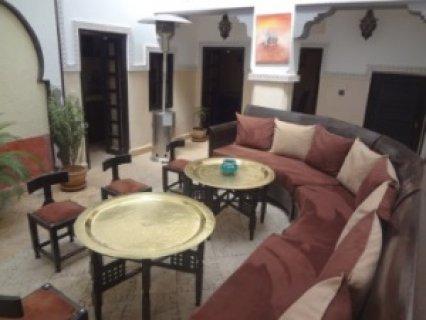 رياض مرمم للبيع في باب دكالة، مراكش: 92م (موقع جميل)