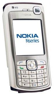 هاتف من نوع نوكيا   N70  من صنع ألماني مرفوقة بشريحة حجمها GB