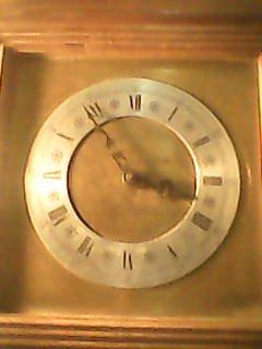 ساعة مربعة
