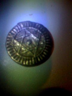 قطع نقدية قديمة بهم نجمة سداسية