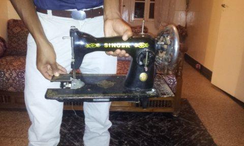 ماكينة سانجر القديمة