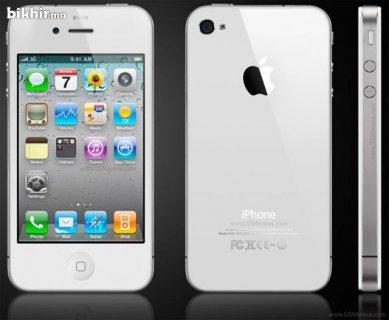 هاتف ايفون4 ابيض اللون 8جيجا بايت