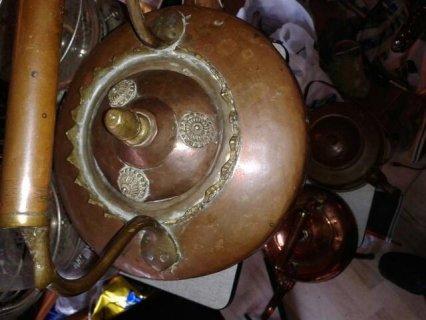 براد قديم من النحاس تحفة نادرة