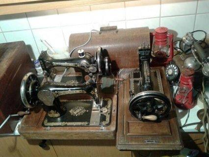 ماكنات خياطة قديمة ماركة سنجر