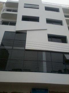projet d\'habitation et bureaux
