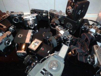 كاميرات قديمة