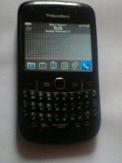 blackberry curve noire 8520