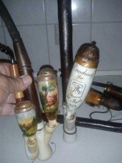 ادوات تتخين التبغ انتيك تحف قديمة عمرهم من 125 سنة وما فوق
