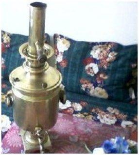 samovar..سخان مائي من النحاس الخالص ..عمره اكثر من 100سنة؛ من ال