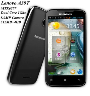 Lenovo A390T dual card smartphone [Andriod 4.0/RooT / 3 colours]