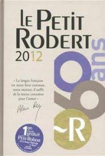 كتاب للبيع le Petit Robert 2012
