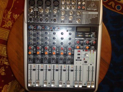 Table de mixage Behringer XENYX QX1204USB