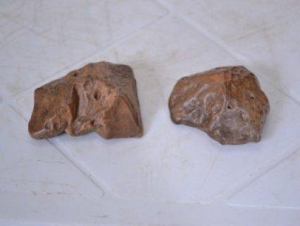 حجر النيزك القمر