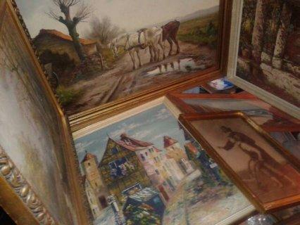 لوحات فنية لا يوجد لها مثيل وقديمة جدا في غتية الروعة