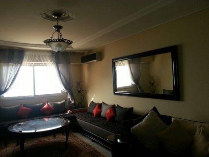 شقة للايجار مفروشة فى مدينة طنجة فخمة 3 غرف على البحر