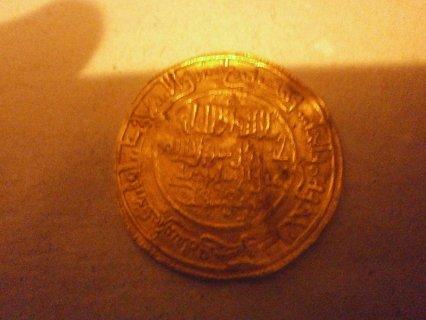 قطعة نقدية دهبية للبيع