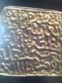 كتابة أثرية على المعدن + ميدالية insuperable 1835