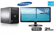 PC (HDMI) De Bureau+ TV samsung (HDMI) 23 puce