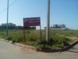 أرض لبناء فيلا أمام غابة بوسكورة بالدارالبيضاء 1068 متر مربع