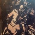 Le Chevalier gravé sur le bois